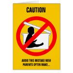 Nytt roligt) kort för barnuppfostranrådgivning (