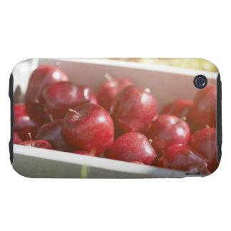 Nytt valda äpplen i magasin tough iPhone 3 cases
