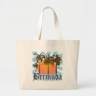 Ö av Bermuda souvenir Jumbo Tygkasse