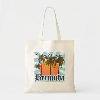 Ö av Bermuda souvenir Tygkasse