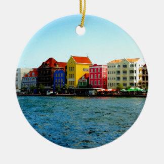 Ö av den Curacao designen vid Admiro Julgransprydnad Keramik