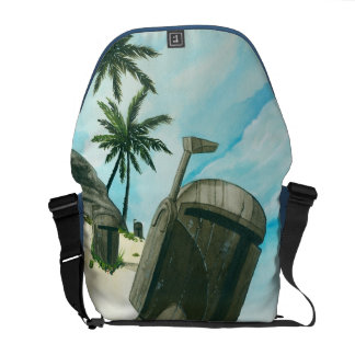 """""""Ö av Fetten Moai """", Messenger Bag"""