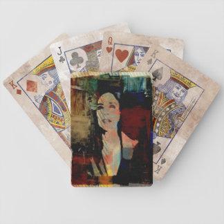 O för tutdiamantdäck kort spelkort