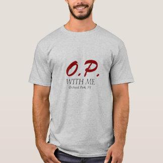 O.P. MED MIG, fruktträdgården parkerar, NY T-shirts