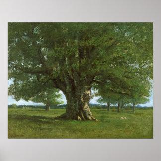 Oaken av Flagey som kallas Vercingetorix Poster