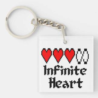 Oändlig hjärtanyckelring