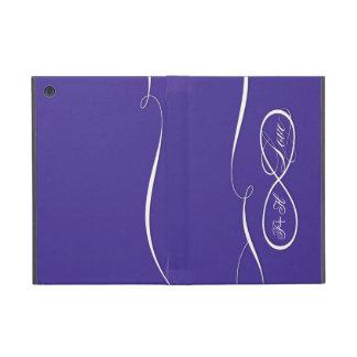 Oändlighetssymbolet undertecknar oändlig kärlekper iPad mini fodral