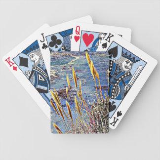 Oatgräs & vinkar spelkort