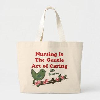 OB-sjuksköterska Tote Bags