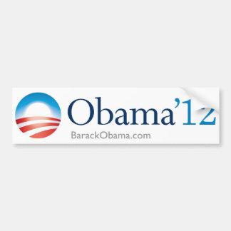 Obama 2012 bildekal
