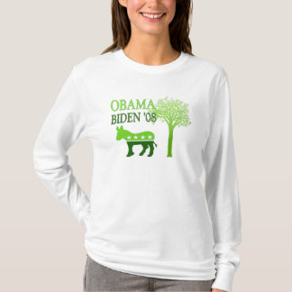 Obama Biden '08 kvinna Hoodie