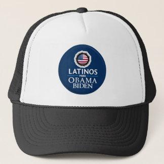 Obama Biden LATINOShatt Truckerkeps