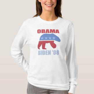 Obama Biden polara björnkvinna Hoodie