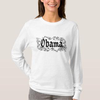 Obama blom- gotisk kvinna skjorta för Hoodie