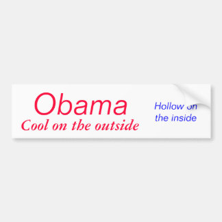 Obama coola på den utvändiga bildekalet bildekal