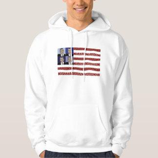 Obama flaggaHoodie Sweatshirt Med Luva