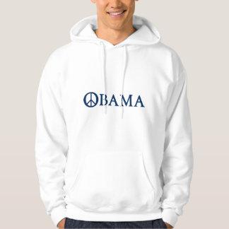 Obama fredsymbol munkjacka