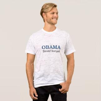 Obama - glöm aldrig tshirts
