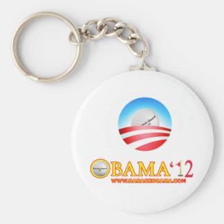 Obama golfs- nationbrännskador rund nyckelring
