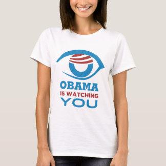Obama HÅLLER ÖGONEN PÅ DIG den Obama ögaPRISMAN Tröja