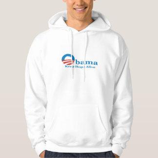 Obama hoppHoodie Munkjacka