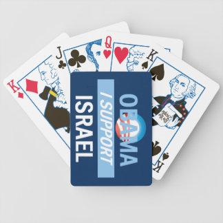 Obama ISRAEL Spelkort