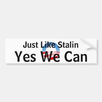 Obama ja kan vi bildekal