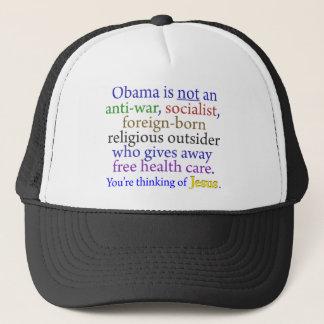 Obama & Jesus Truckerkeps