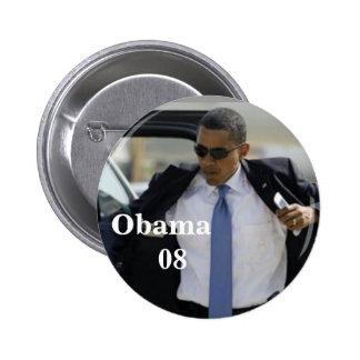 Obama klämmer fast standard knapp rund 5.7 cm