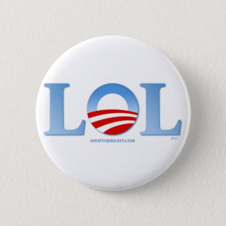 Obama LOL Standard Knapp Rund 5.7 Cm
