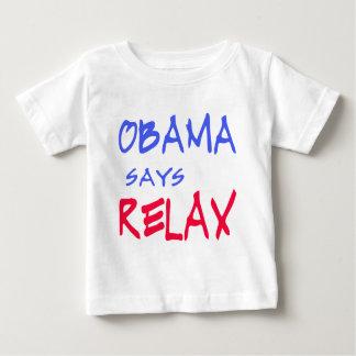Obama något att säga kopplar av T-skjortor, Tröjor