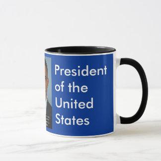 Obama på perfektion av unionen mugg