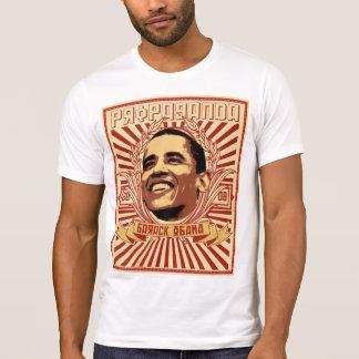 Obama propaganda tee shirt
