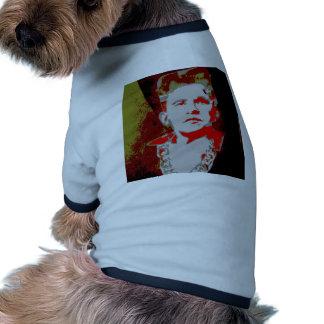 Obama Retro stil 2 Hund Tee Shirt