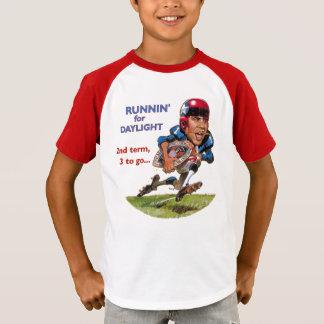 Obama runnin för dagsljus tee shirt