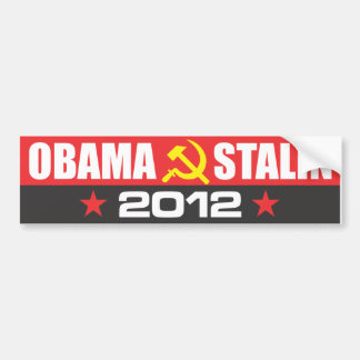 OBAMA - STALIN 2012 BILDEKALER