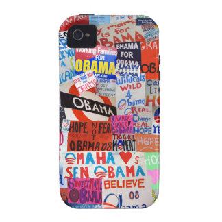 Obama undertecknar Collageiphone case iPhone 4 Fodral