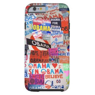 Obama undertecknar fodral för CollageiPhone 6 Tough iPhone 6 Case