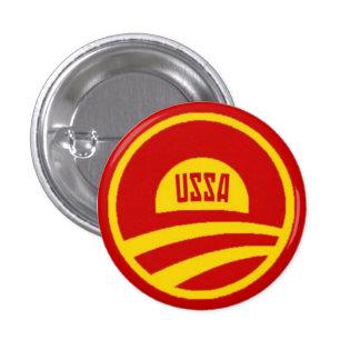 Obama USSA knäppas Mini Knapp Rund 3.2 Cm