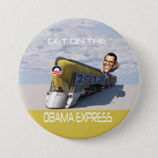 Obama uttryckligt tåg mellanstor knapp rund 7.6 cm
