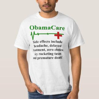 ObamaCare biverkningar T-shirts