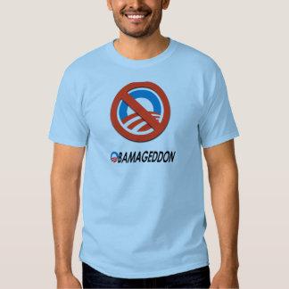 Obamageddon svart t shirts