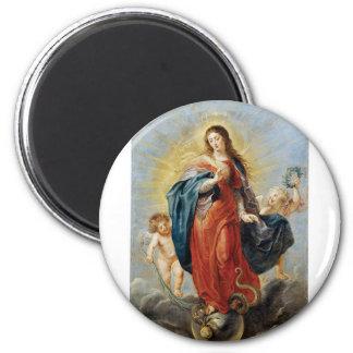 Obefläckad befruktning - Peter Paul Rubens Magnet