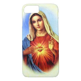 Obefläckad hjärta av välsignade jungfruliga Mary
