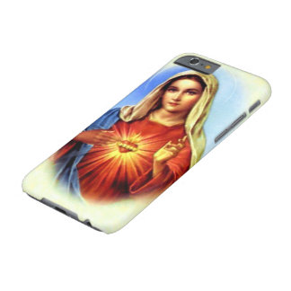 Obefläckad hjärta av välsignade jungfruliga Mary Barely There iPhone 6 Fodral