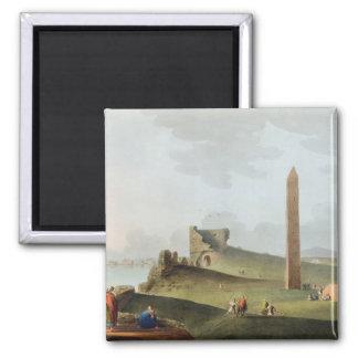 Obelisksna på Alexandria som kallas Cleopatras Nee Magnet