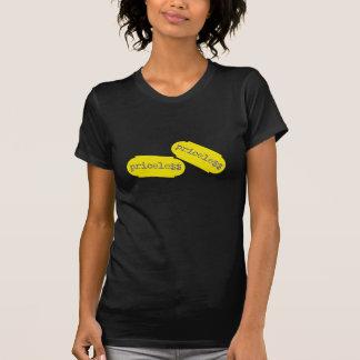 """""""Obetalbart"""" shoppa den prisa klistermärken T Shirts"""