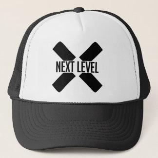 Obetitlad hatt truckerkeps