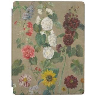 Obetitlat (blommor) (olja ombord) iPad skydd