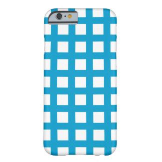 ÖblåttiPhone 6 fodral - rasterkontroll Barely There iPhone 6 Skal